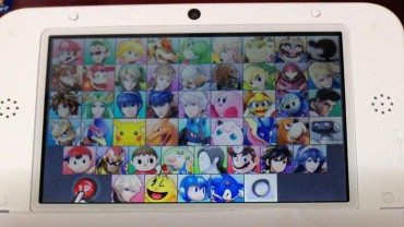 Leaked Super Smash Bros. 3DS Screen outs final roster