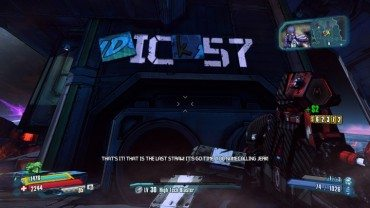 Borderlands: The Pre-Sequel's Secret Boss is a Dick