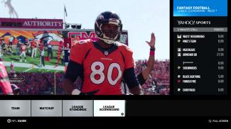 Yahoo Fantasy Football added to Xbox One NFL App