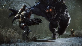 Pre-Order Evolve, Receive Monster Skin & Alpha Access