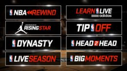 NBA Live 5 Game Modes