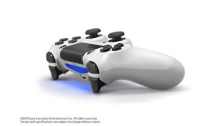 PlayStation 4 Glacier White DualShock 4 On Sale For $43.99