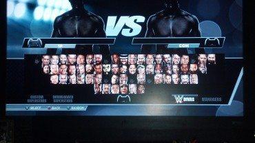 WWE 2K15 Full Roster Menu Screen Revealed