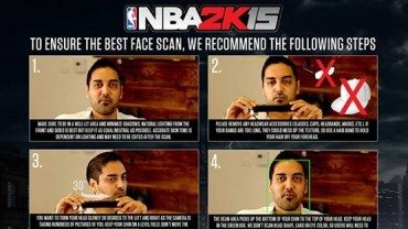 How To Properly Scan Your Face In NBA 2K15