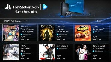 PlayStation Now Open Beta On Vita & PlayStation TV Next Week