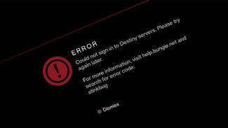 "Update: Destiny update producing ""Stinkbug"" errors for many players"
