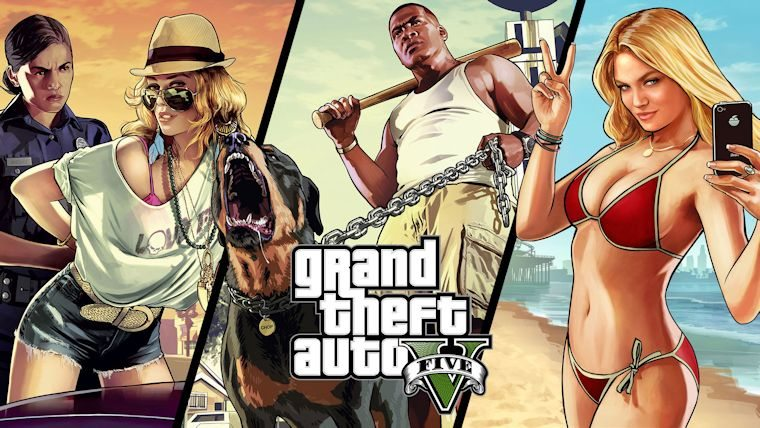 Grand Theft Auto V Nintendo Nintendo Switch playstation PlayStation 4 Rockstar Games sales United Kingdom Xbox Xbox One Image