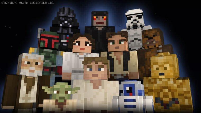Minecraft Star Wars Skin Pack
