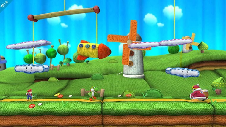Super Smash Bros  For Wii U Reveals Two Brand New Stages