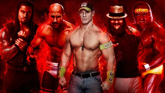 PS3/Xbox 360 WWE 2K15 DLC Cannot Transfer To PS4/Xbox One - Attack