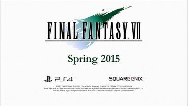 Final Fantasy VII Is Debuting On PlayStation 4 This Spring