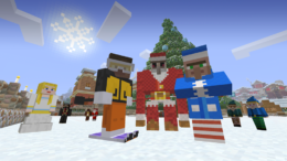 Minecraft Festive Mash Up Pack