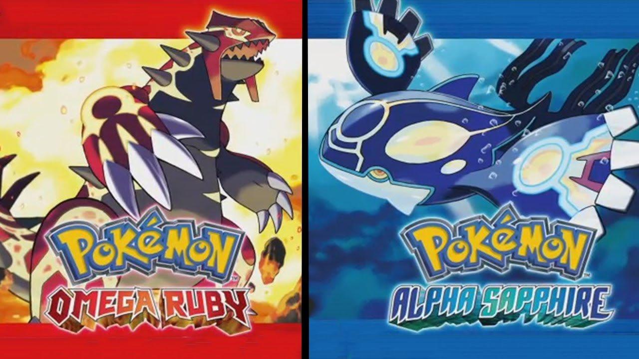 Pokemon Omega Ruby Alpha Sapphire Cover