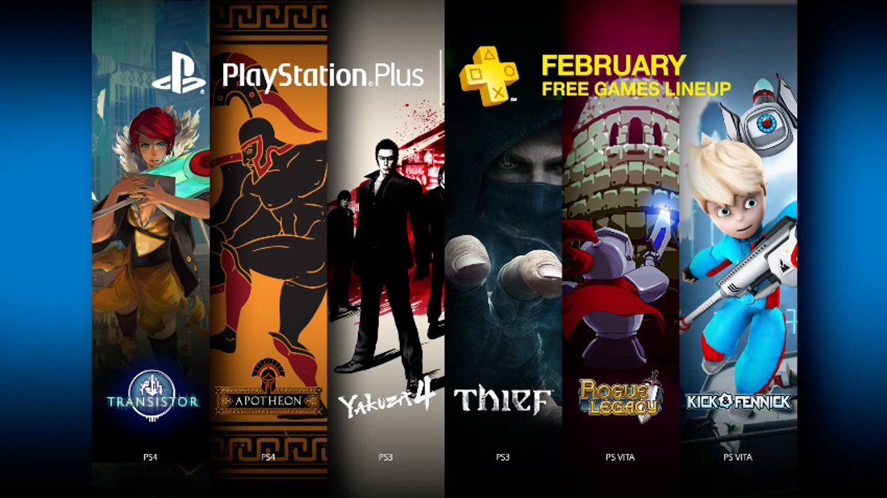 PlayStation Plus Free Games for February Include Transistor