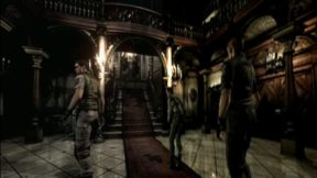 Resident Evil HD Remaster vs Gamecube REmake Graphics Comparison Video