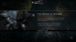Destiny House of Wolves Release Date Leak