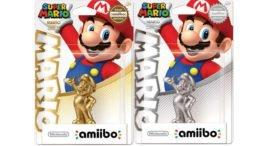 Limited Edition Silver Gold Mario Amiibo