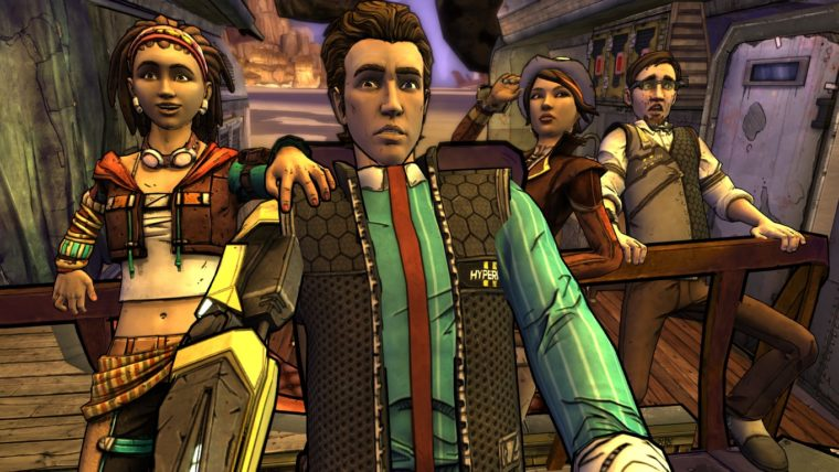 Articles  Telltale Games Tales from the Borderlands Borderlands