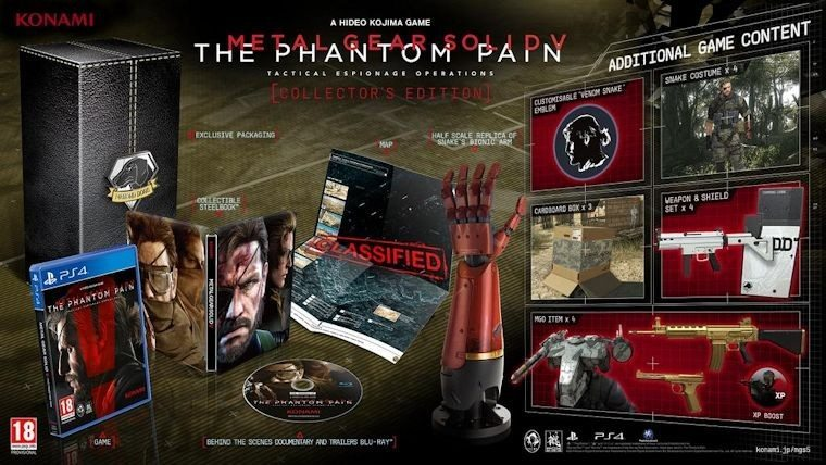 Metal Gear Solid V The Phantom Pain Boxart Revealed With