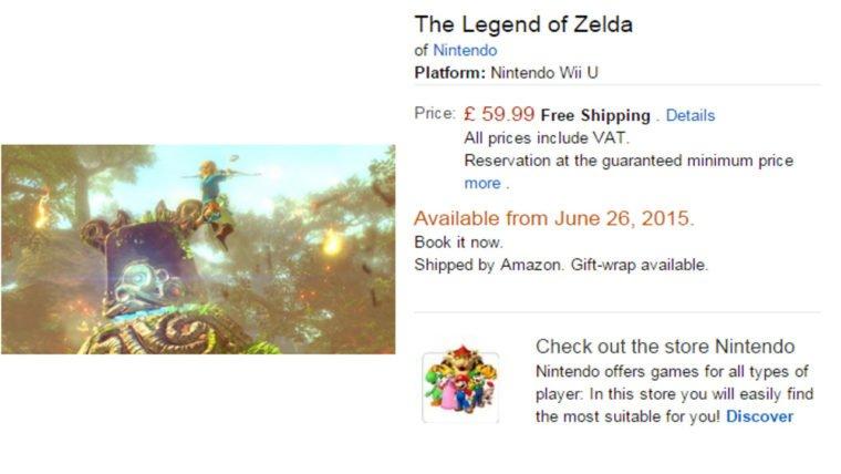 The Legend of Zelda Wii U Release Date 760x428