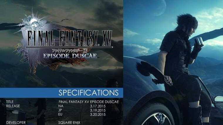 Final Fantasy XV Demo Now Available For Type-0 HD Buyers