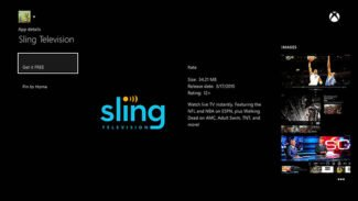 Exclusive Sling TV App arrives on Xbox One
