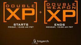 Call Of Duty Double XP Weekend Hits Advanced Warfare & Black Ops 2