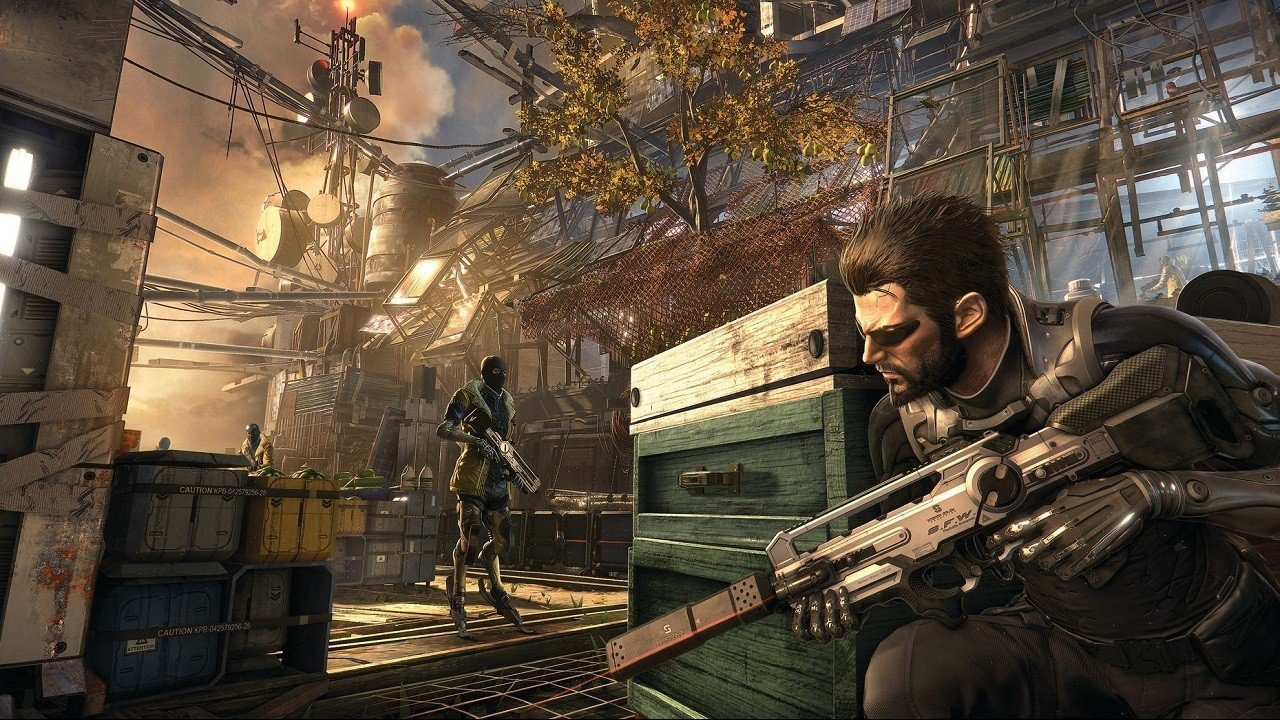 News PC Gaming PlayStation Xbox  Square Enix Deus Ex: Mankind Divided Deus Ex Human Revolution