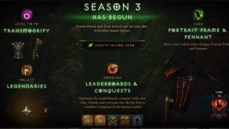 PSA: Diablo 3 Season 3 Is Now Live In All Regions