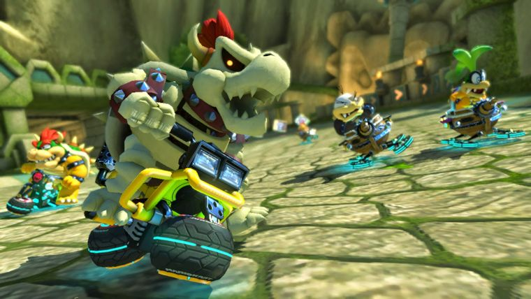 mario kart 8 deluxe how to turn motion controls on