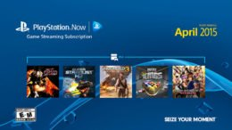 PlayStation Now April 2015