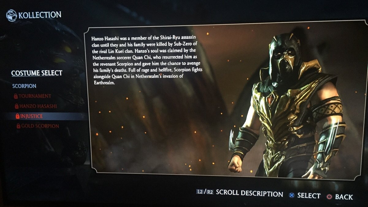 Mortal Kombat X To Include Unlockable Injustice Costume For