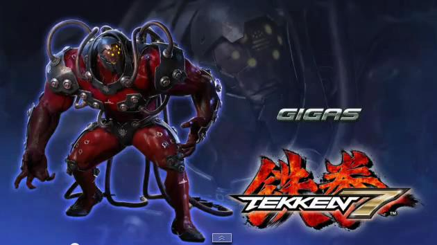 New Tekken 7 Character Is Named Gigas Attack Of The Fanboy