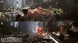 Star Wars Battlefront Splitscreen Gameplay Screenshot Shown
