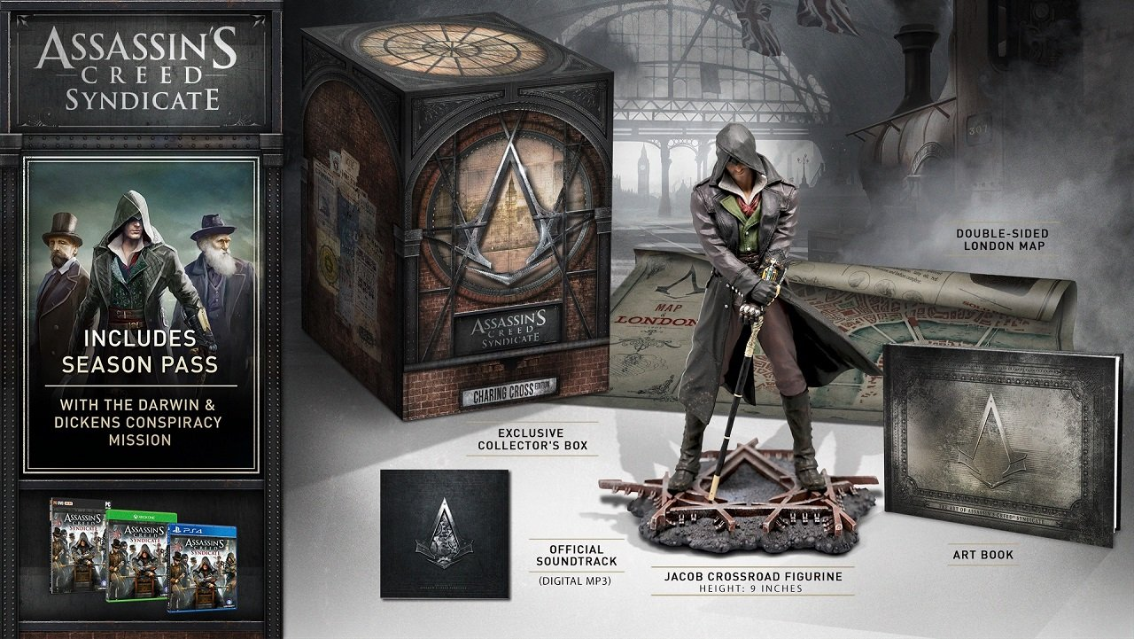 Assassin's Creed Syndicate Will Have Three Collector's ...