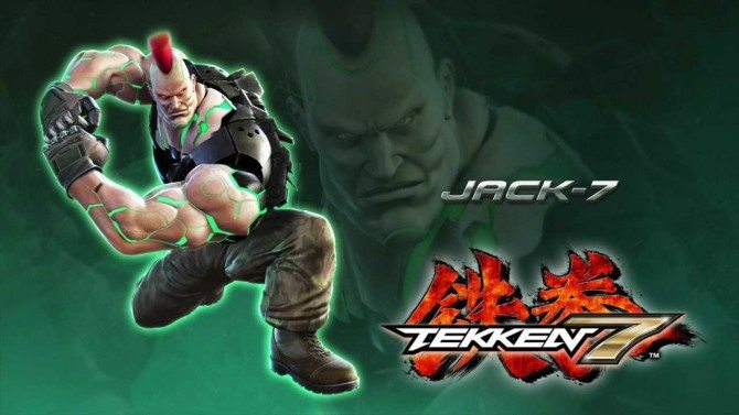 Jack 7 Is The New Tekken 7 Character Attack Of The Fanboy