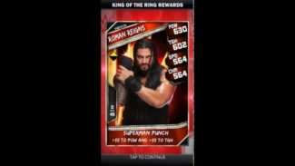 WWE SuperCard Receives A New Update Today