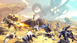 Battleborn Details Revealed, Five-Player Cooperative Story & MOBA-Like Online Experience