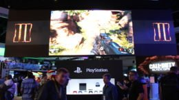 Call of Duty: Black Ops 3 Towers over PlayStation's E3 Booth