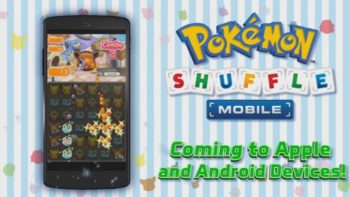 Pokemon Shuffle Mobile Heads to iPhone and Android Very Soon
