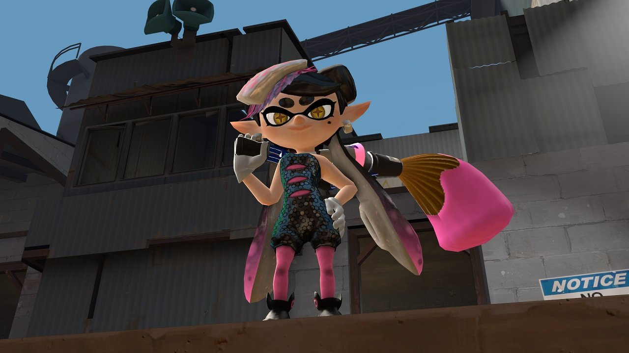 Splat Fortress Tf2 Mod Brings The Splatoon Experience To Pc
