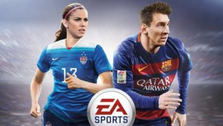 FIFA 16 Cover Features Female Players for First Time – Alex Morgan and Christine Sinclair Share with Lionel Messi
