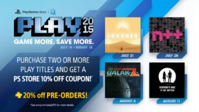 PlayStation Announces 2015 PLAY Lineup, Includes Journey & Discount For PS+ Members