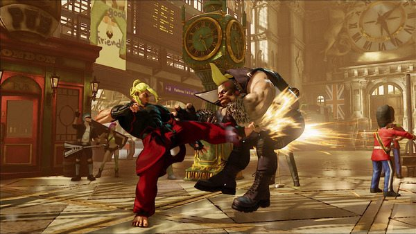 Street Fighter 5 Producer Talks On Ken S New Design Attack Of The Fanboy