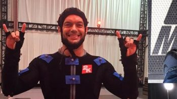 Finn Balor Does Mo-Cap Work For WWE 2K16
