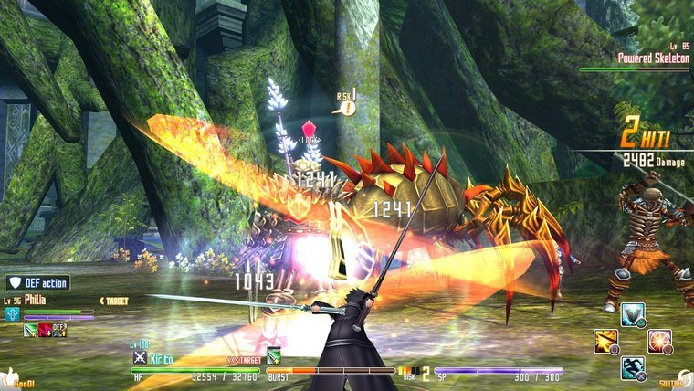 Sword Art Online Re: Hollow Fragment Review - Attack of the