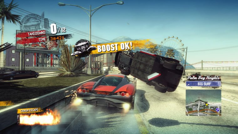 Banner Confirms Burnout Paradise for PS4 Release Date