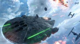 Gamescom 2015: Millennium Falcon Flies To Star Wars Battlefront