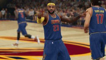 NBA 2K16 Cavaliers vs Warriors Gameplay Video