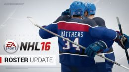 NHL 16 Roster Update